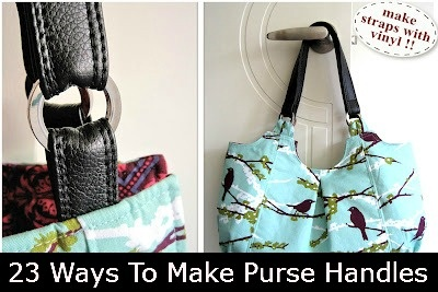 23 Ways To Make Purse Handles