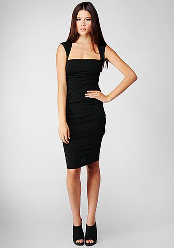 Black dress temptation 7 vien