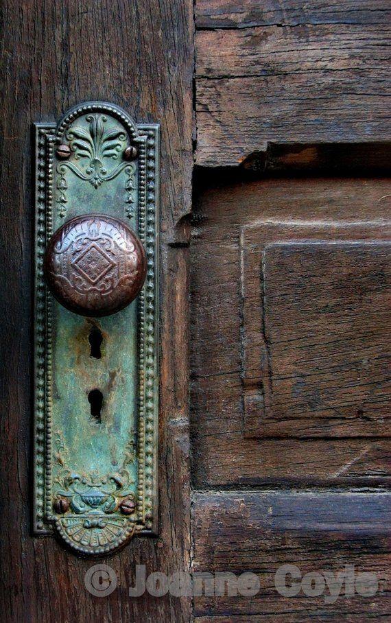 OLD DOOR KNOB Photograph - OLD DOOR KNOB Photograph Products Doors, Door Knobs, Antique Doors