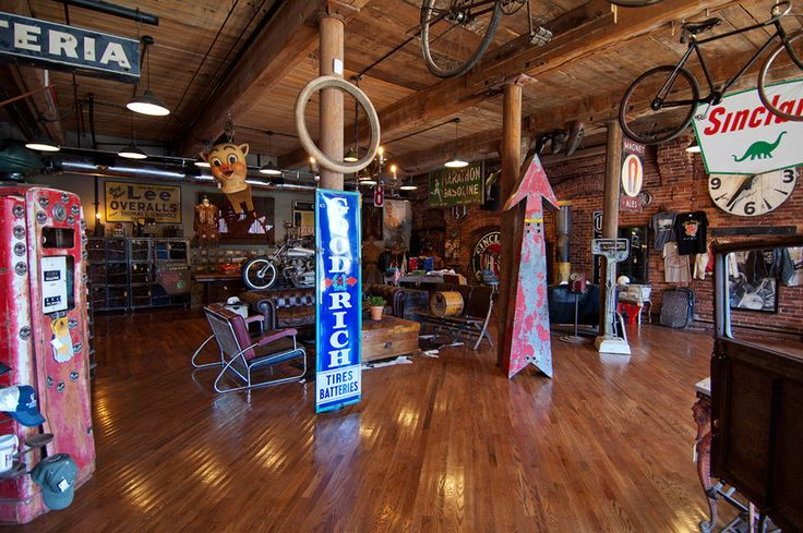 """Mike Wolfe of """"American Pickers"""" has opened his second Antique Archaeology store, find it in Nashville's Marathon Village"""