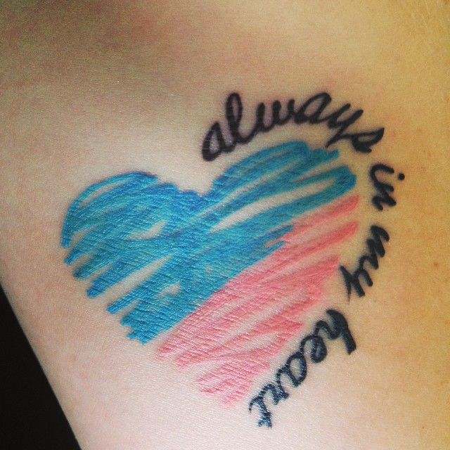 Pin for Later: 25 Meaningful — and Stunning — Miscarriage Tattoo Ideas in Honor of Your Unborn Baby Always in My Heart