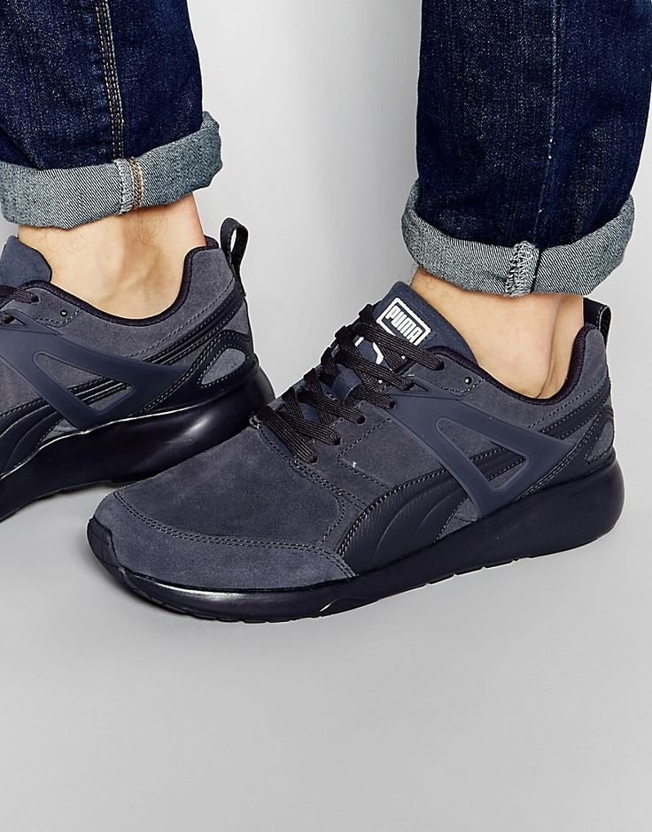Image 1 of Puma Aril Suede Sneakers
