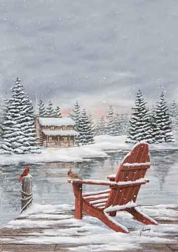 383 Best Watercolour SnowWinter Images On Pinterest