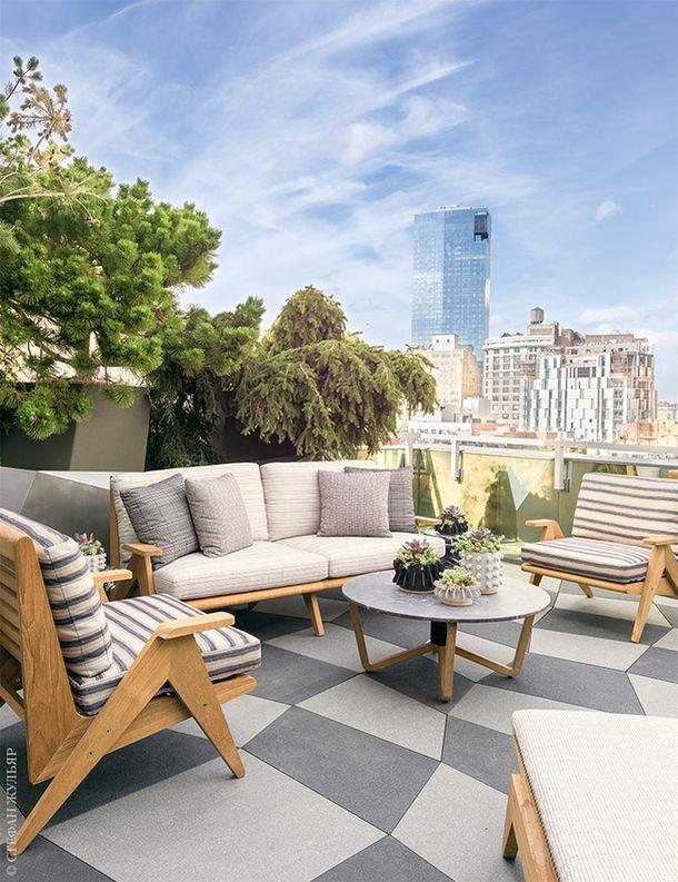 Квартира в Нью-Йорке по дизайну Келли Уирстлер, 250 м²