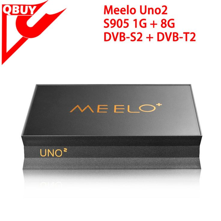 2017 New Arrival meelo uno amlogic s905 Quad core android 5.1 tv box meelo uno2 with DVB-S2+DVB-T2 twin tuner satellite receiver