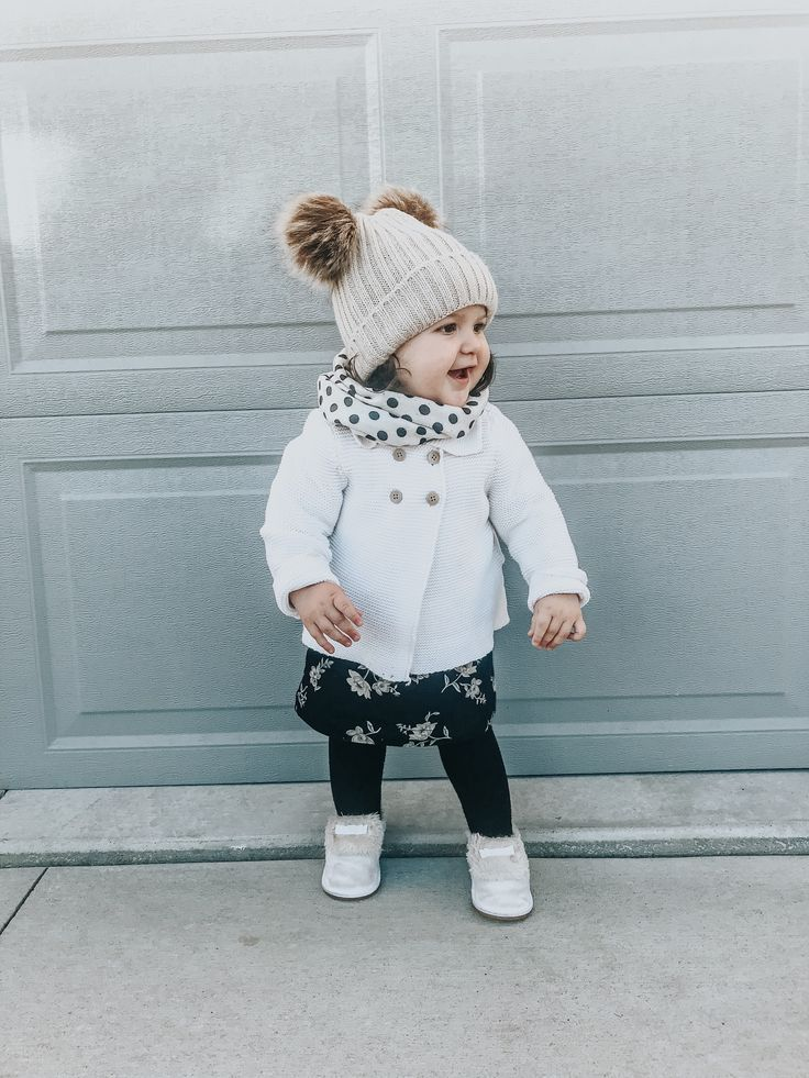 Winter Fashion Baby Girl Clothes Pom Hat Follow Our Pinterest Page At Deuxpardeu Fashionable Adorable Newborn