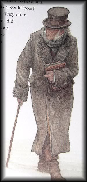 P.J. Lynch - Ebenezer Scrooge - A Christmas Carol