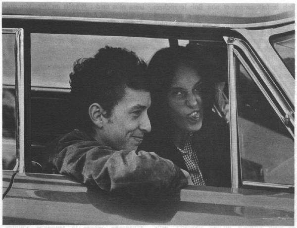 Joan Baez with Bob Dylan - 1964