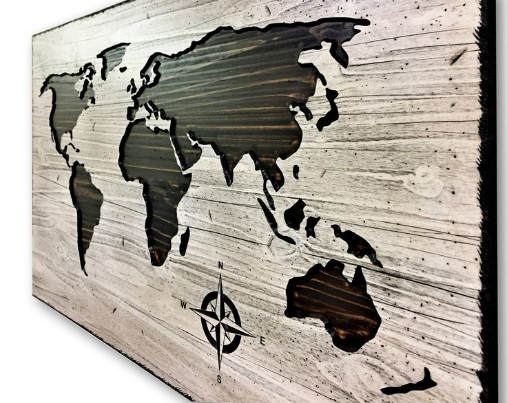 Push Pin World Map, Map of world, Wooden Map, World Map Wall Art, World Map Picture, Map to Mark Travels, Travel Log, Adventure wall decor by HowdyOwl on Etsy