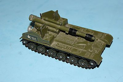 Dinky Toys Military Green Army 155mm Mobile Gun / Tank # 654 !!