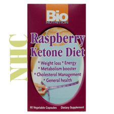 Bio Nutrition Raspberry Ketone Diet. Helps Support Weight Loss and Boosts Energy