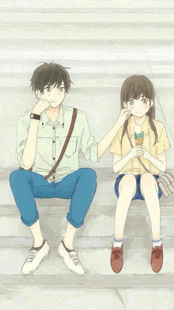 Pin De Nina Chu Em Anime Copl Casais Bonitos De Anime
