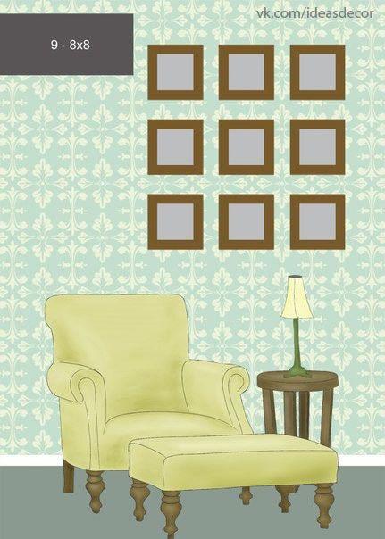 8 ideas para decorar con cuadros y fotos - 5