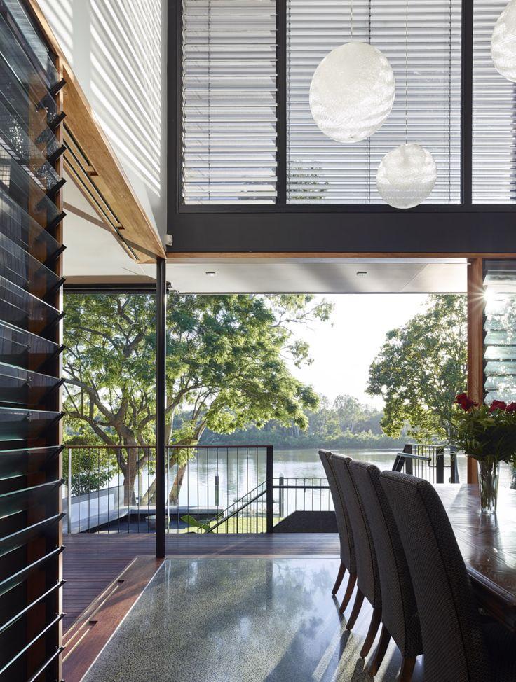Chelmer River House | Queensland Australia | Shaun Lockyer Architects