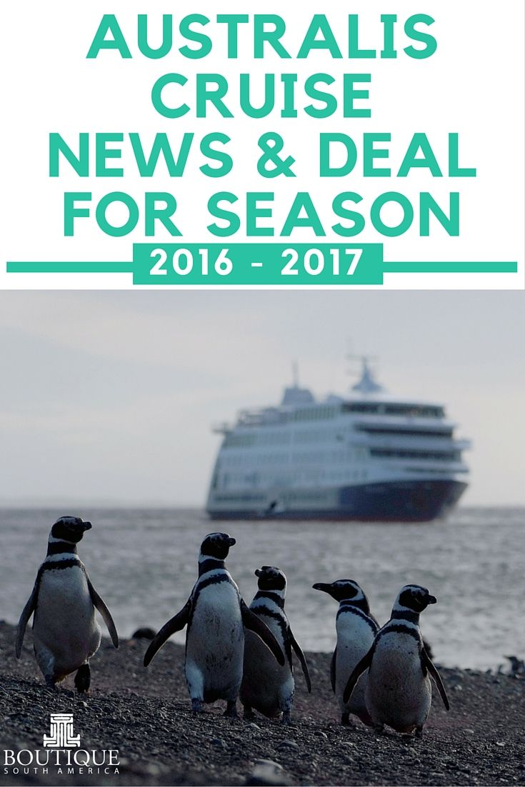 The Early Penguin to book select departures of the Australis Cruise to Patagonia in 2016 gets a free hotel night.