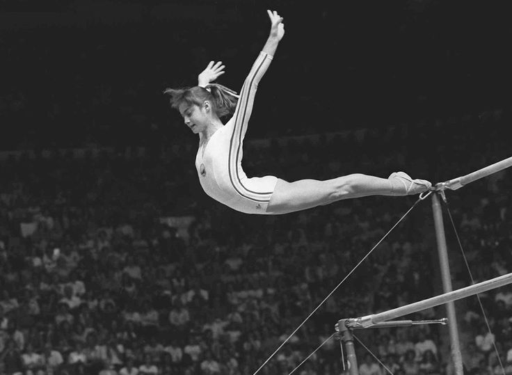 Nadia Comăneci is a Romanian former gymnast, winner of three Olympic gold medals at the 1976 Summer Olympics in Montreal and the first female gymnast to be awarded a perfect score of 10 in an Olympic gymnastic event. She also won two gold medals at the 1980 Summer Olympics in Moscow, thus named one of the best.
