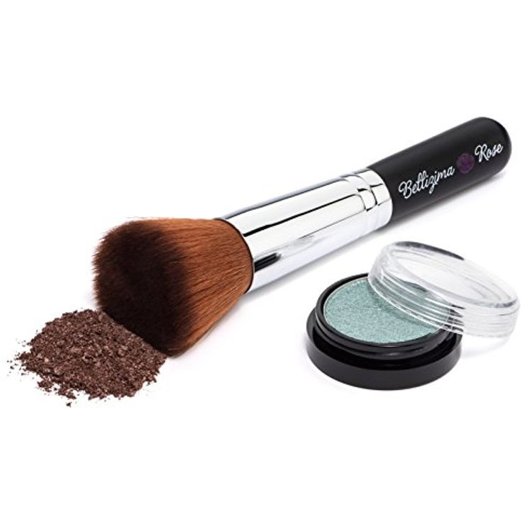 Mineral Foundation Brush - Premium Flat Top Makeup Brush Contours Loose or Pressed Mineral Powders | Best Foundation Brush to Highlight Your Cheekbones | Use to Apply Liquid Foundation | Embrace Your Beauty | Exclusive Bellizima Rose -- Details can be found by clicking on the image. (This is an affiliate link and I receive a commission for the sales)