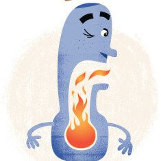 "Is Heartburn Caused By ""Leaky Esophagus""?"