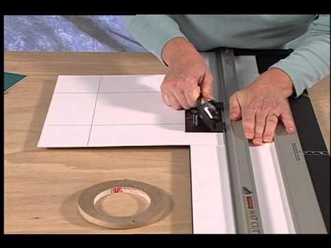 How To Cut A Double Mat On A Logan Mat Cutter Art