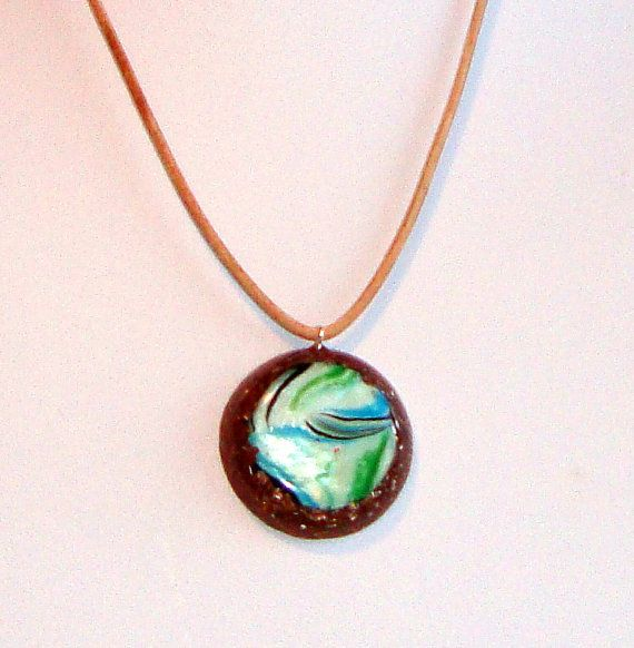 Orgone  orgonite copper pendant with Mother by OrgoniteCreations 20 €