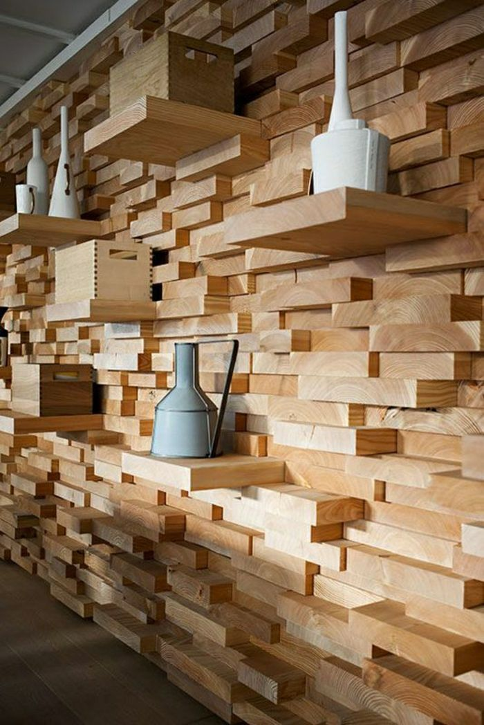 Try 14 Diy Remarkable Wooden Wall Art For Your Dream House Art Diy Dream House Remarkable Wall Wooden Wandpaneele Holz Wandpaneele Holzdesign