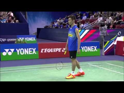 [HD] Final - 2015 Yonex French Open - Lee Chong Wei vs Cou Tien Chen