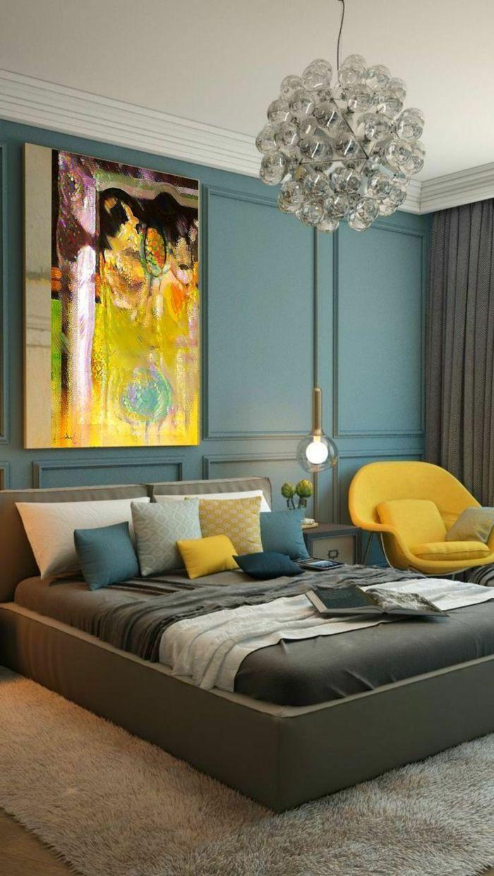 Más de 25 ideas increíbles sobre Dormitorios azules amarillos en ...