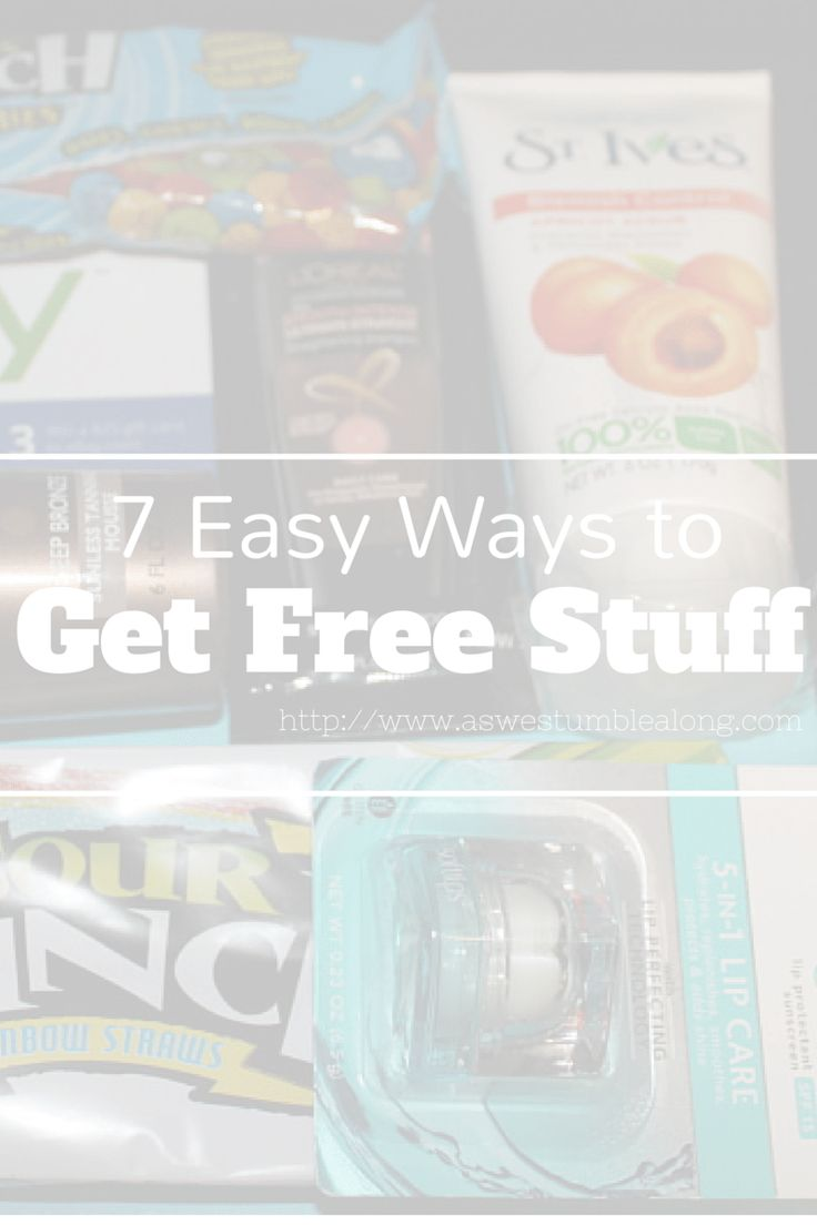 7 Easy Ways to Get Free Stuff-this is a must read for college students and anyone on a budget,and it's all so easy!