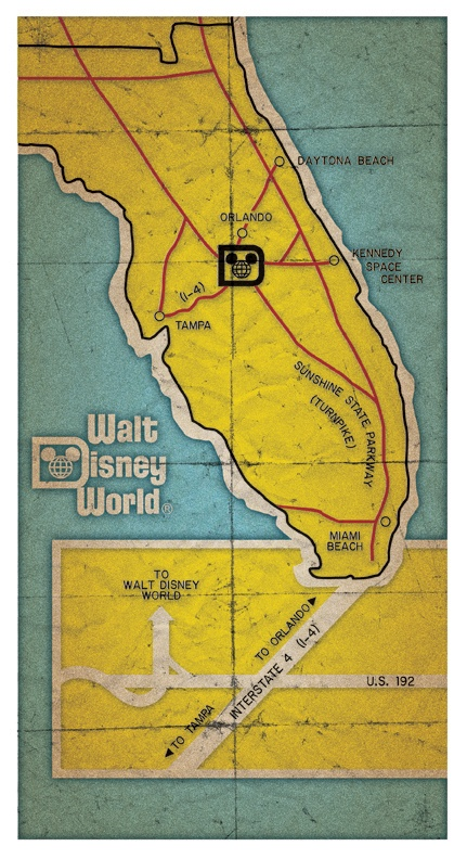 WDW is at the heart of FL It is on its own and separate from the rest of cr