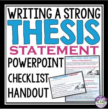 challenge thesis statement Thesis definition one or two sentence distillation of the entire paper that is argumentative (ie, has a point of view), provides the main idea of the paper, hints.