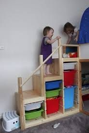 expedit bunk bed hack - Google Search