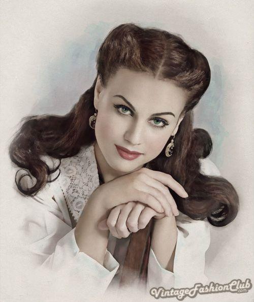 1930s women's hairstyles | 1930s Fashion Scarlett Ohara Inspired