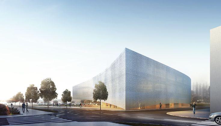 Kaupunki. Centre de formation médicale, Rouen (2014)