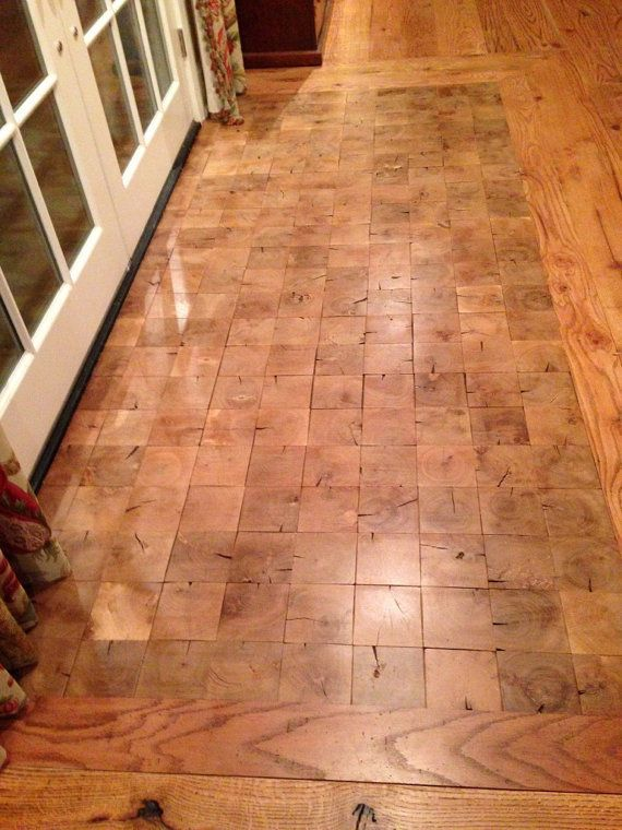 End Grain Flooring Parquet Reclaimed wood in Home, Furniture & DIY, DIY  Materials,