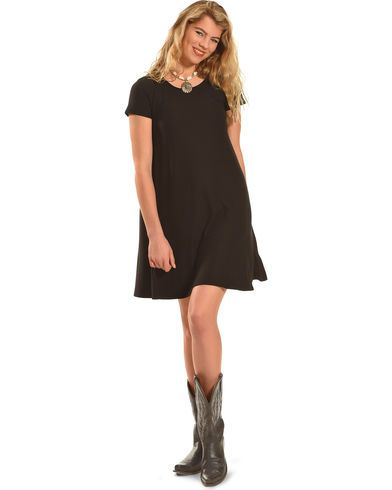 Derek Heart Women's Yara's Yummy Trapeze Dress  - Country Outfitter