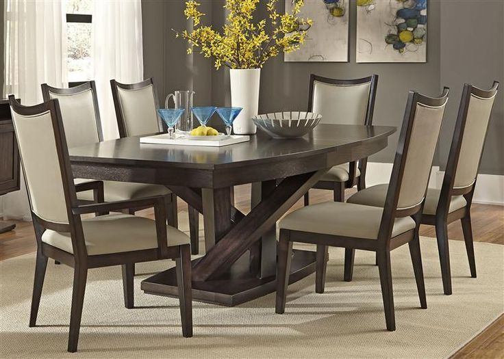 Superb Southpark Contemporary 7 Piece Dining Set By Vendor 5349 At Becker Furniture  World