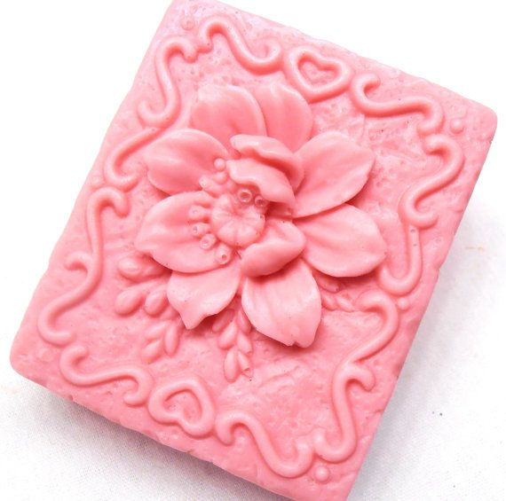 Mother's Day Gift Soap  Spring Gardenia Soap  by EcoChicSoaps