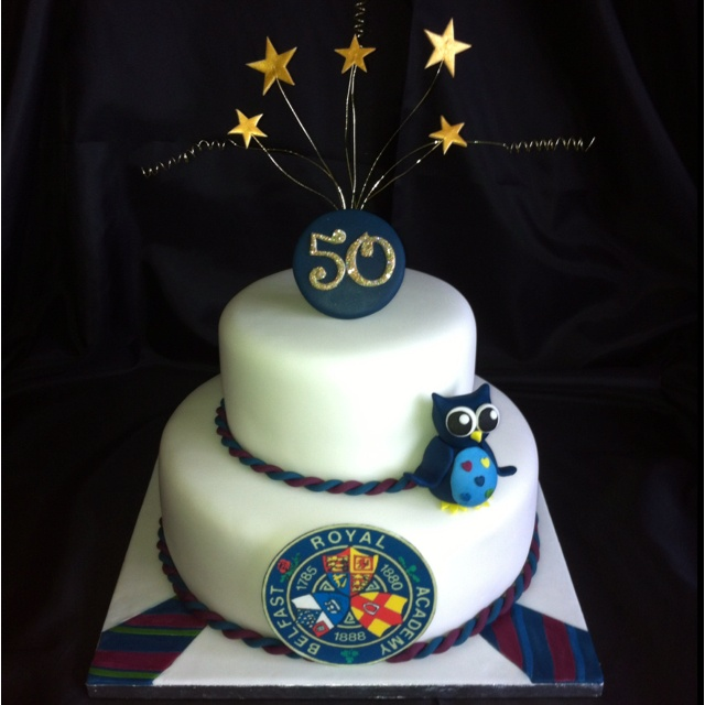 School reunion cake for Belfast royal academy s class of ...
