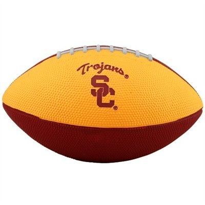 Nike USC Trojans Cardinal-Gold 10'' Mini Football