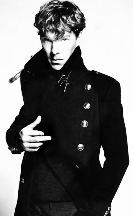 Benedict Cumberbatch / Black and White Photography