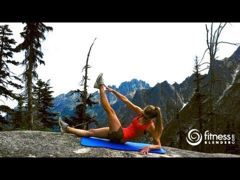 Mountain Top Abs Workout – Toning Abs & Obliques Workout, Fitness Blender