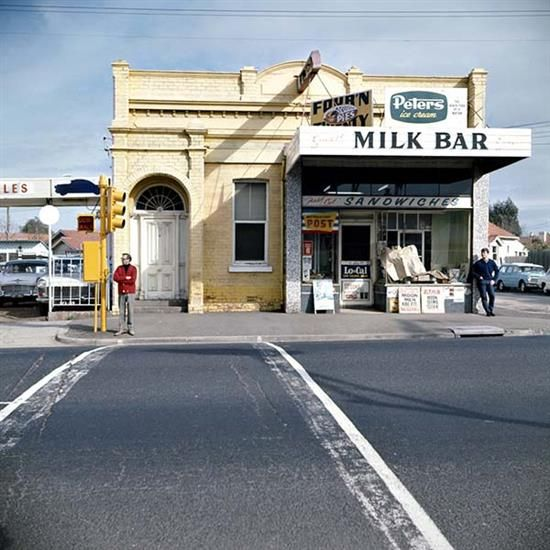 ANGUS OCALLAGHAN (BORN 1922) Milk Bar digital print on archival rag paper A