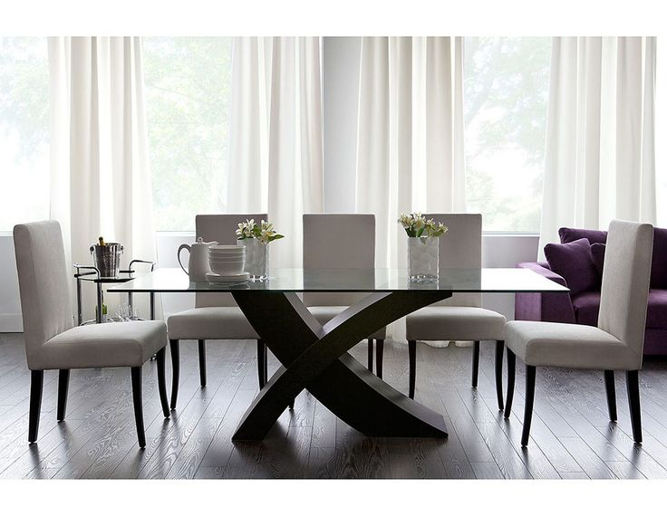Structube - Dining room : Tables : Xenia (Dark coffee)