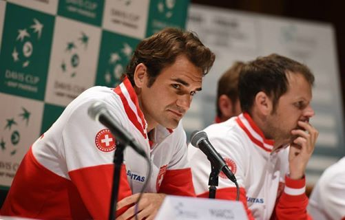 'It's been a difficult week' - #RogerFederer opens up about his back and his race to be fit for the Davis Cup - More here:  http://www.live-tennis.com/category/davis-cup/roger-federer-talks-about-a-difficult-week-ahead-of-the-davis-cup-final-20141121-0001/