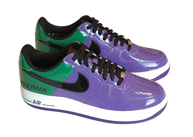 Most Expensive Basketball Shoes in the World: #1. Nike Air Force 1 Boogeyman - Price: $99000