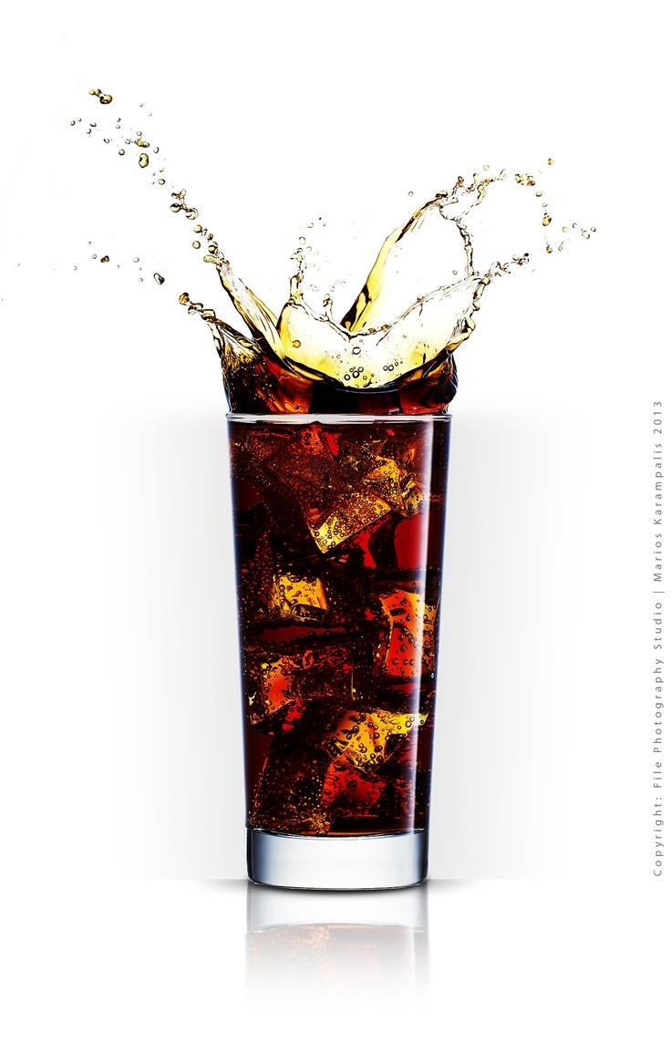 Concept: Splash Coca Cola Glass  Photography - Post Production: File Photography Studio | Marios Karampalis 2013