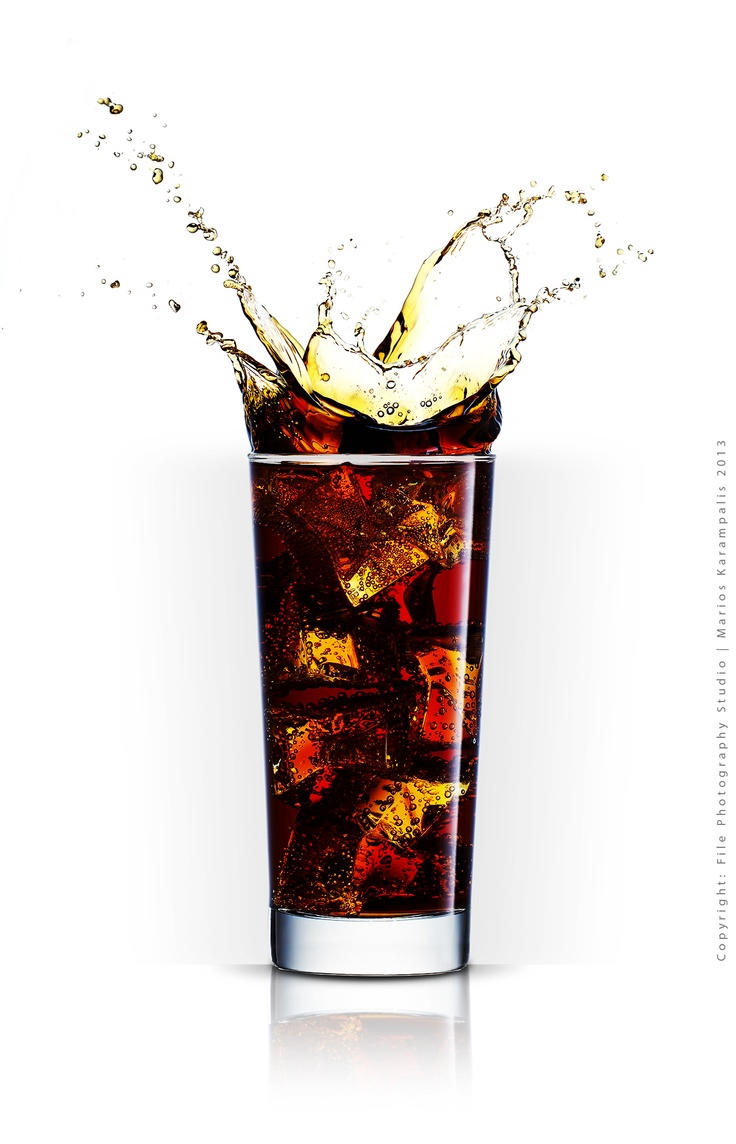 Concept: Splash Coca Cola Glass  Photography - Post Production: File Photography Studio   Marios Karampalis 2013