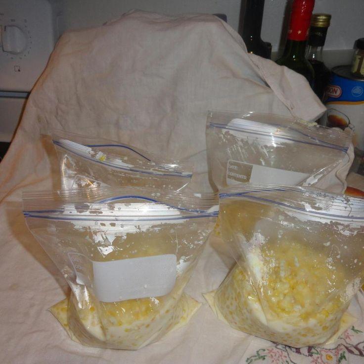 Mom's Frozen Corn recipe
