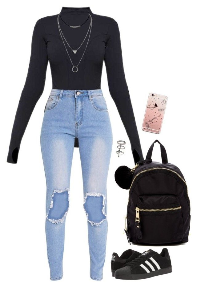 """""""Untitled #658"""" by sapphirecavill on Polyvore featuring Ivy Park, adidas, Miss Selfridge and Madden Girl"""