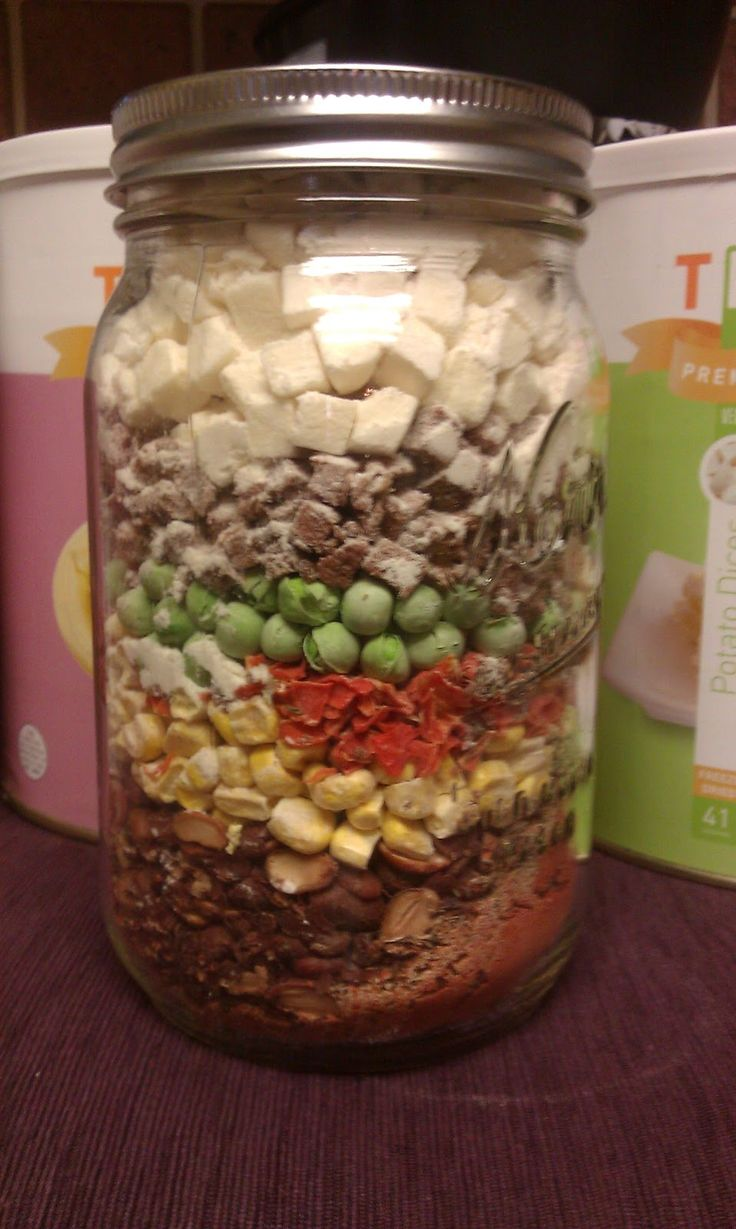 Menu For Olive Garden: Tulsa Thrive Store : Meal In A Jar Freeze-dried Foods And